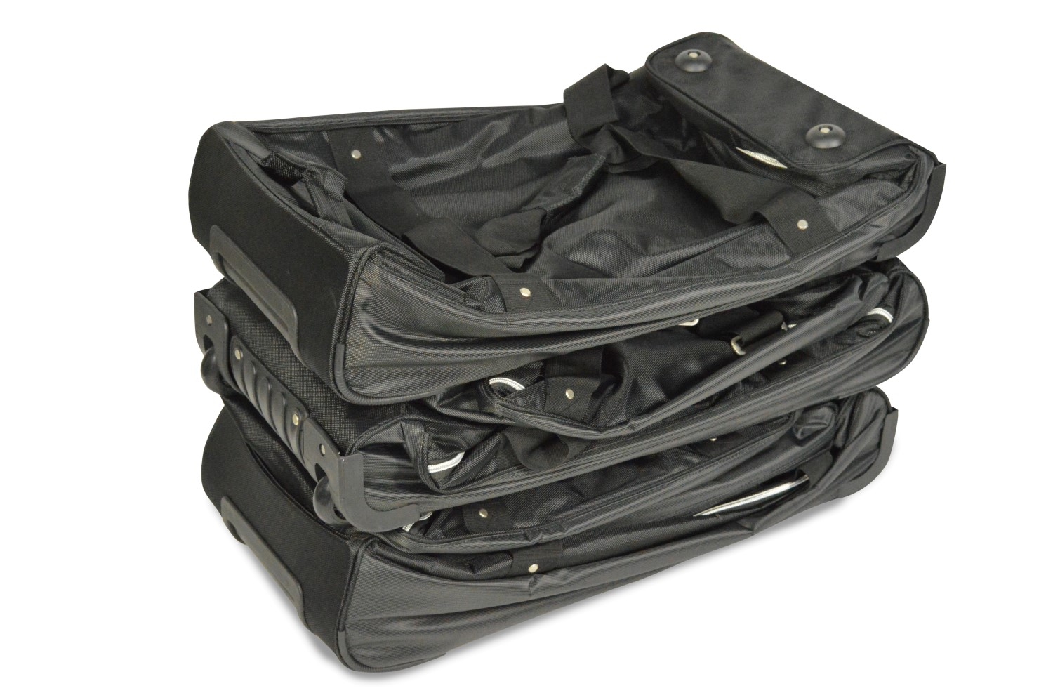Car-Bags.com travel bag sets are compactly storable