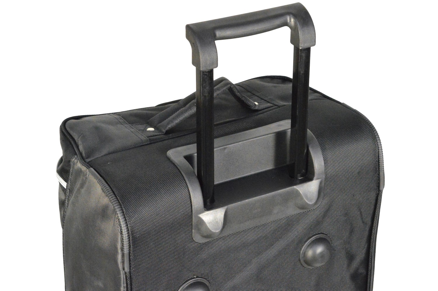 Each trolley bag is equipped with a practical and sturdy telescoping handle