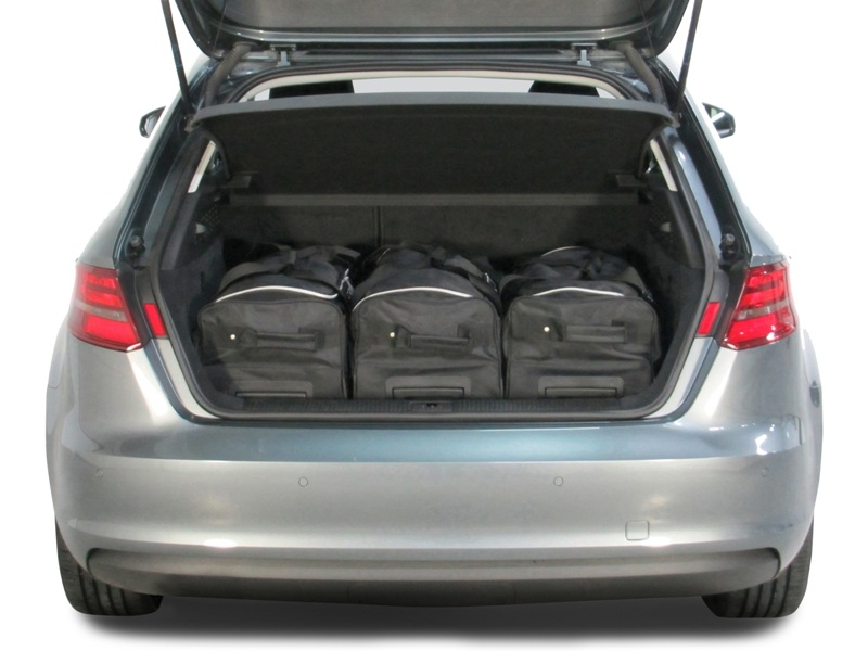 a3 audi a3 sportback 8v g tron 2013 pr sent 5p car bags set de sacs de voyage. Black Bedroom Furniture Sets. Home Design Ideas