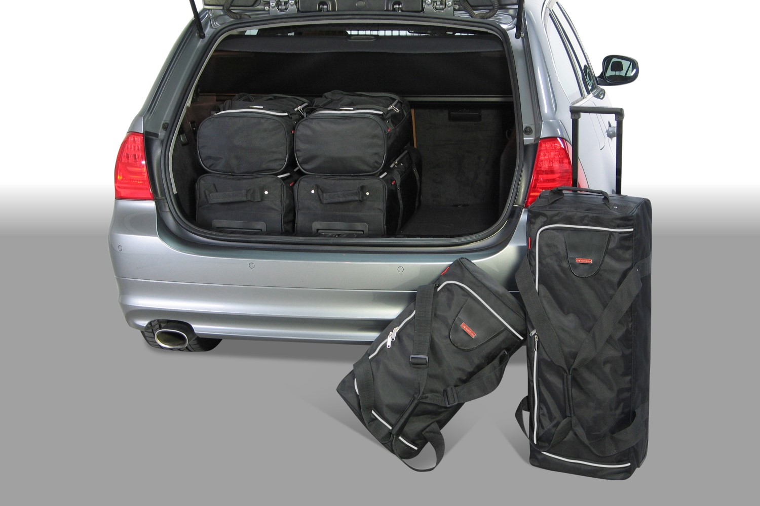 BMW 3 series Touring (E91) 2005-2012 Car-Bags.com travel bag set (1)