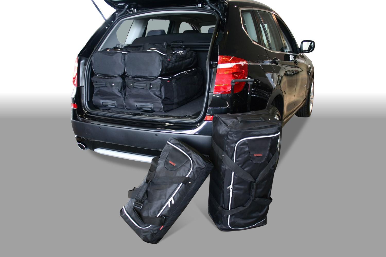 abbastanza X3 : BMW X3 (F25) 2010-2017 Car-Bags travel bags JB08