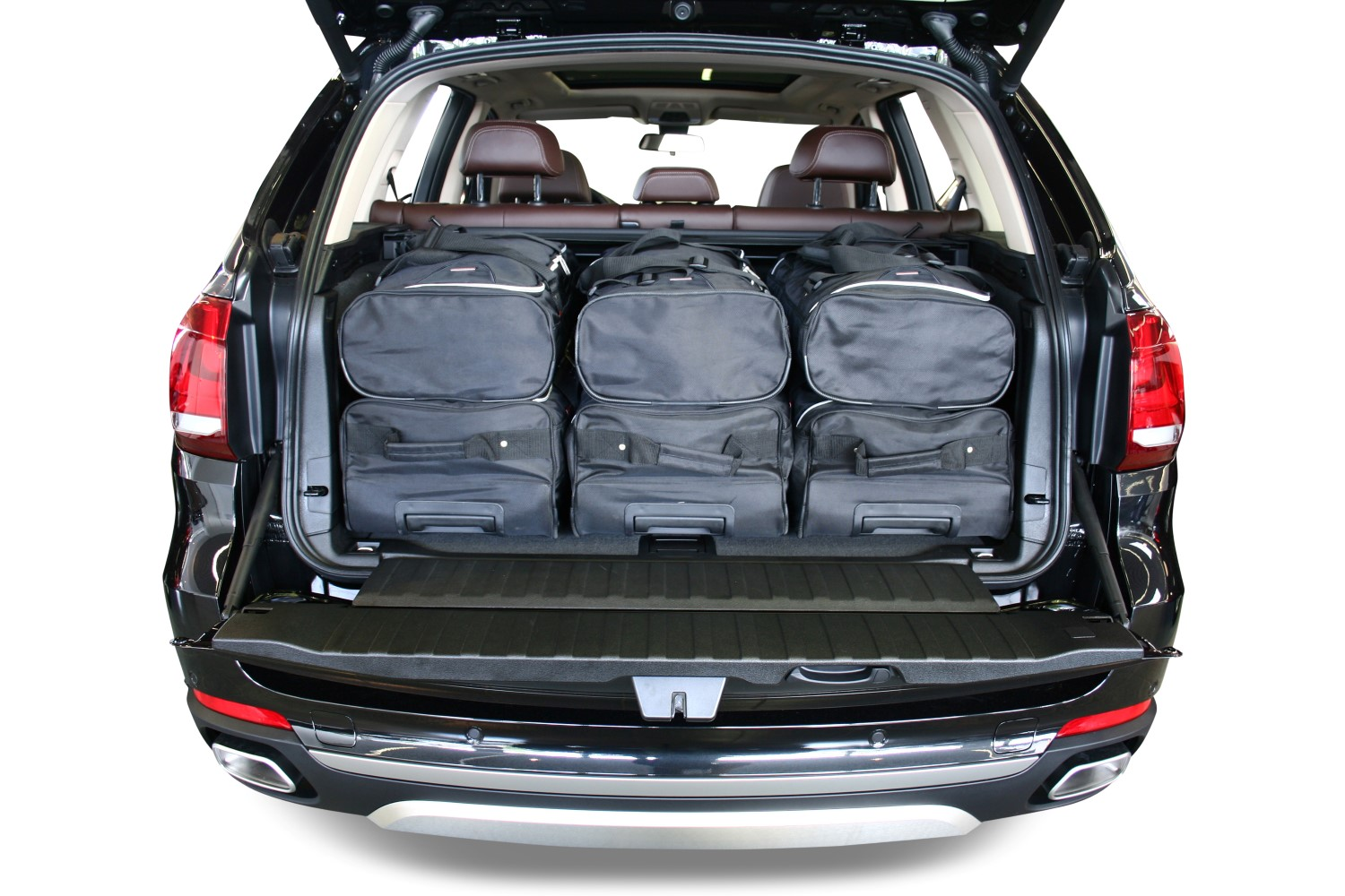 x5 bmw x5 incl plug in hybrid f15 2013 pr sent car bags set de sacs de voyage. Black Bedroom Furniture Sets. Home Design Ideas
