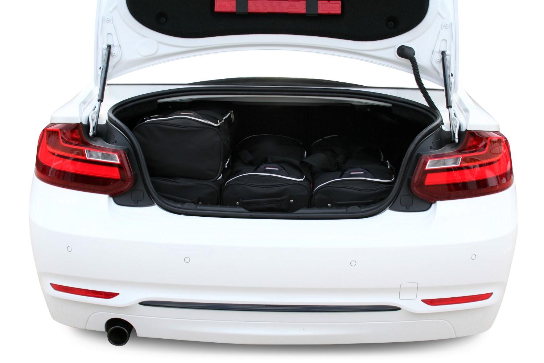 Car-Bags BMW 2 Series Coupé (F22) 2014-présent Car-Bags Set De Sacs De Voyage B11801S cKiS4L2