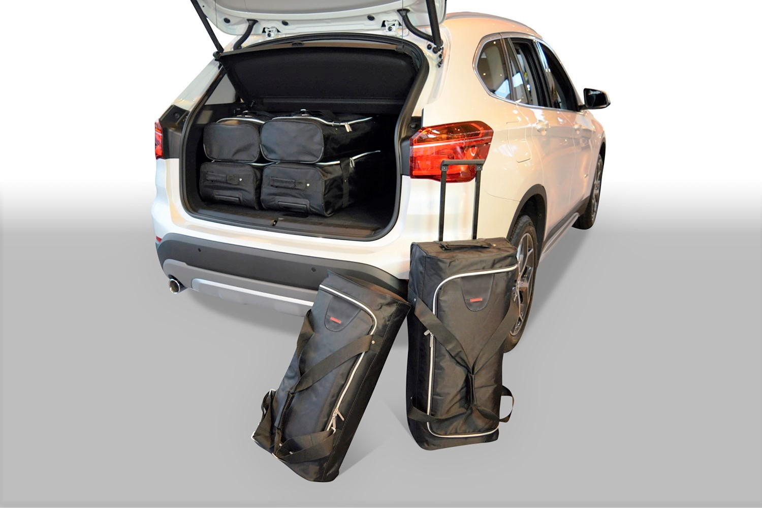 x1 bmw x1 f48 2015 present car bags travel bags. Black Bedroom Furniture Sets. Home Design Ideas