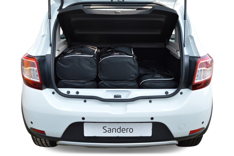 sandero dacia sandero 2012 heute 5t car bags reisetaschen. Black Bedroom Furniture Sets. Home Design Ideas