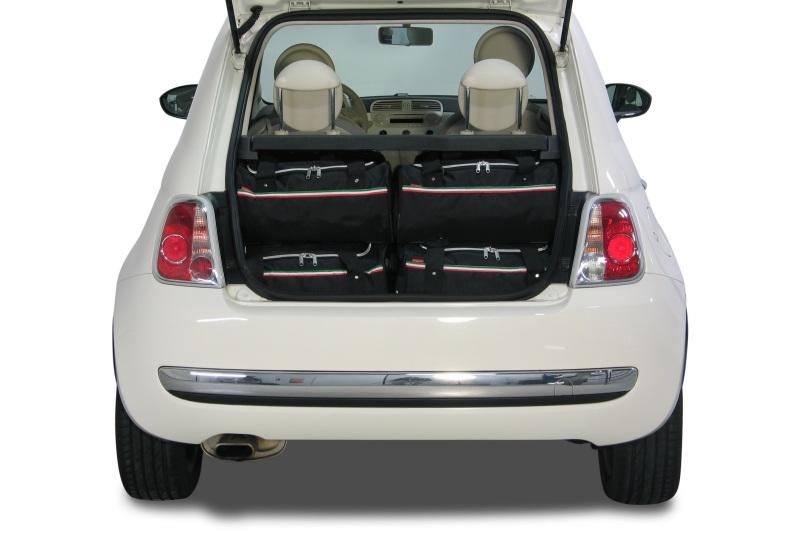 fiat 500 cabrio sacs de voyage pour voiture car. Black Bedroom Furniture Sets. Home Design Ideas