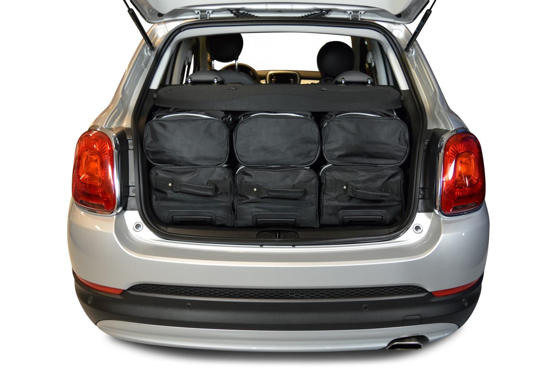 500x fiat 500x 2015 pr sent 5p car bags set de sacs de voyage. Black Bedroom Furniture Sets. Home Design Ideas