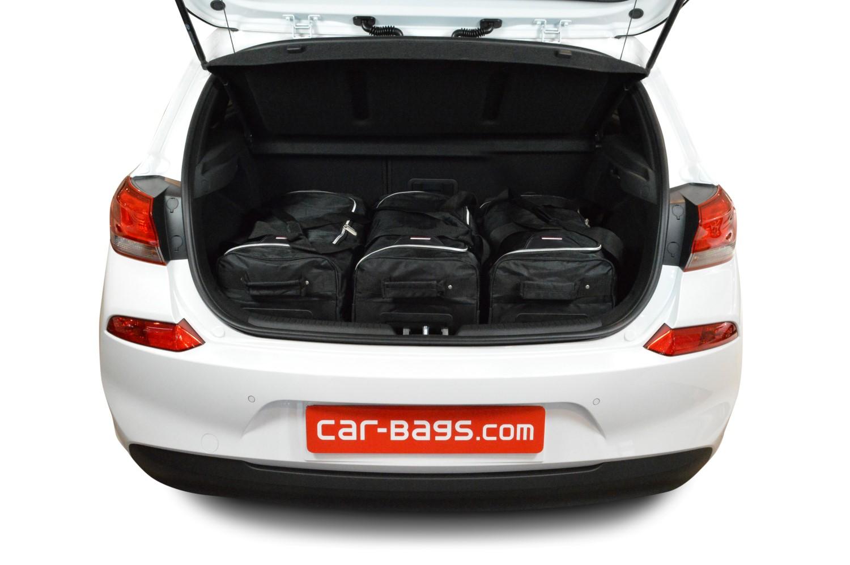 car bags reisetaschen set hyundai i30 pd 2017 heute car. Black Bedroom Furniture Sets. Home Design Ideas