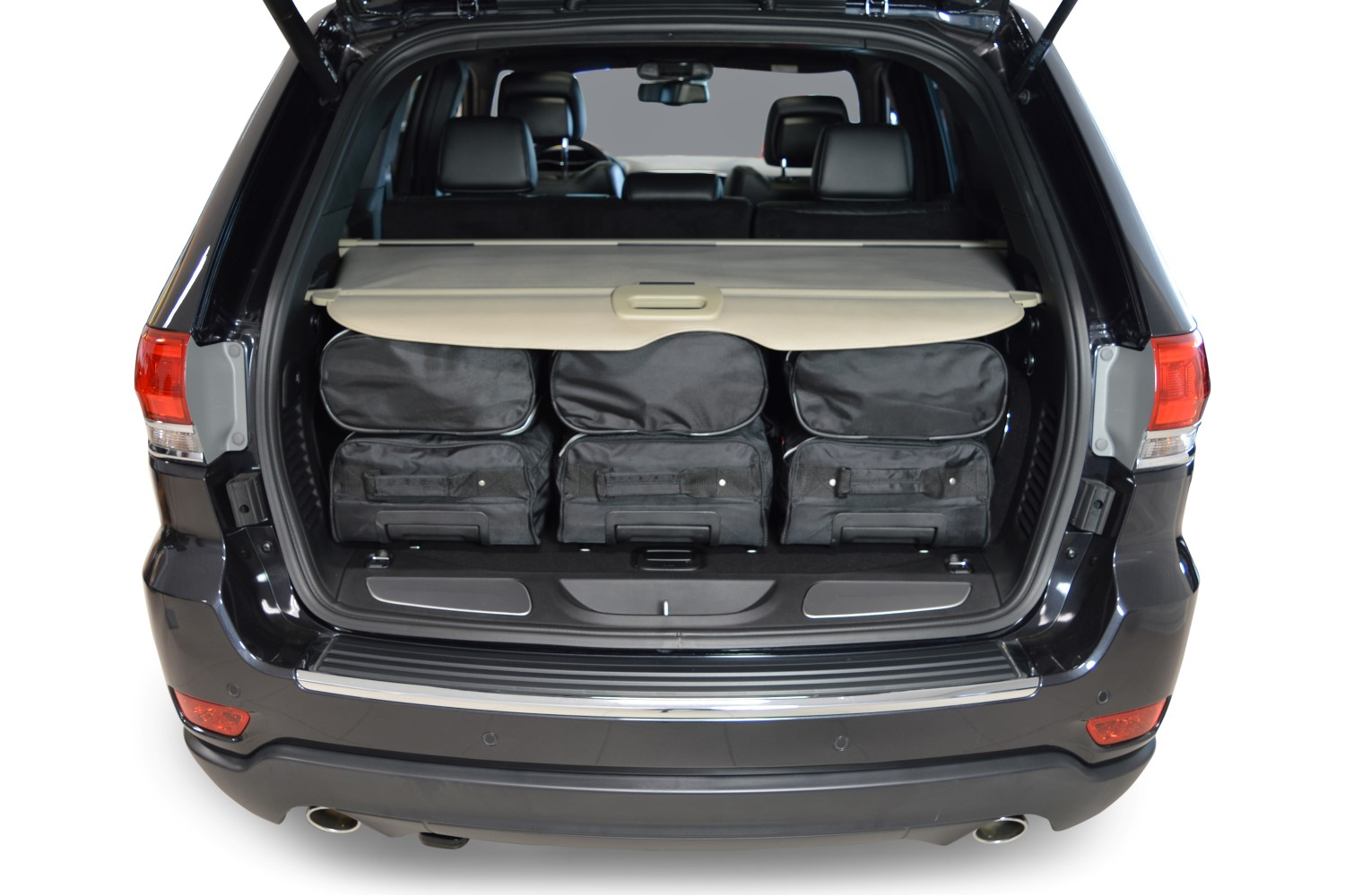 grand cherokee jeep grand cherokee iv wk2 2010 heute car bags reisetaschen. Black Bedroom Furniture Sets. Home Design Ideas