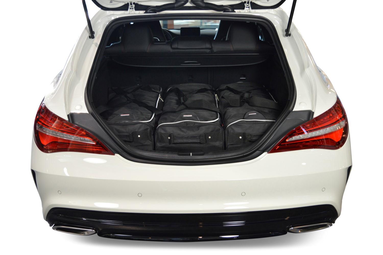 mercedes cla shooting brake x117 car travel bags car. Black Bedroom Furniture Sets. Home Design Ideas