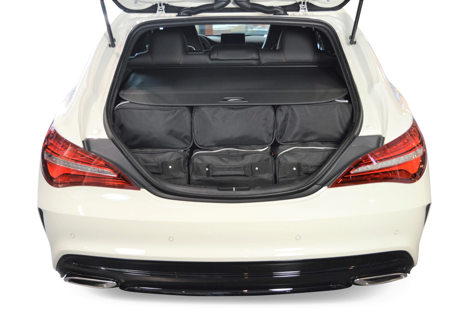 Mercedes Cla Shooting Brake X117 Autotaschen Nach Mass Car Bags Com