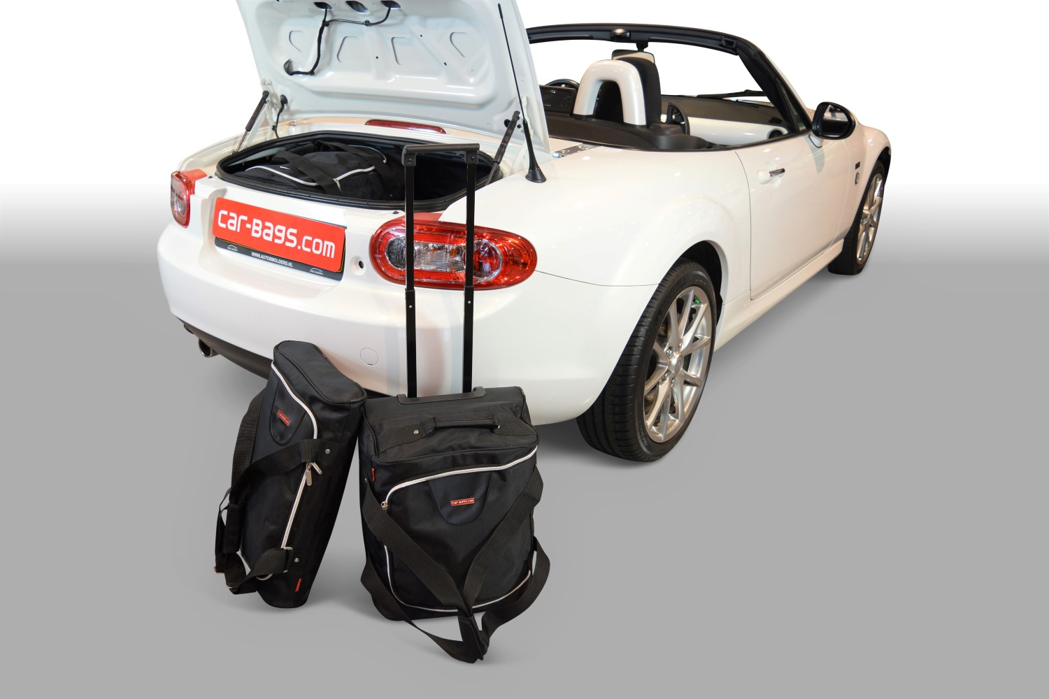 mx 5 mazda mx 5 nc 2005 2015 car bags reistassenset. Black Bedroom Furniture Sets. Home Design Ideas