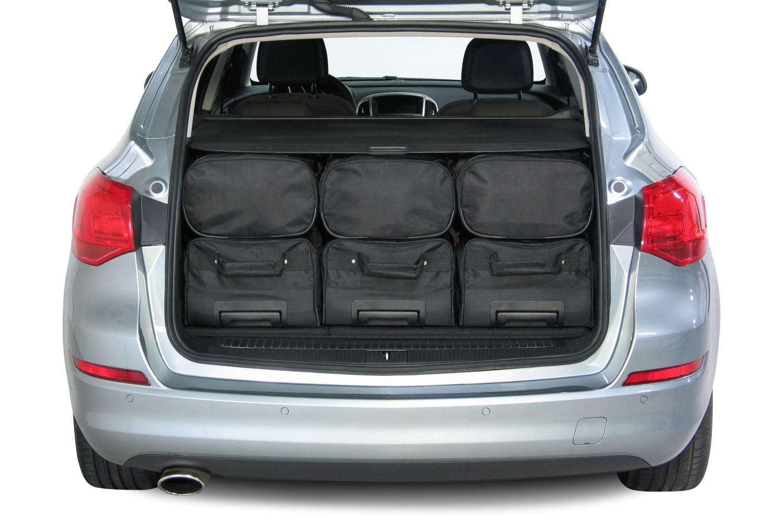 reistassen opel astra j sports tourer autotassen set nodig car. Black Bedroom Furniture Sets. Home Design Ideas