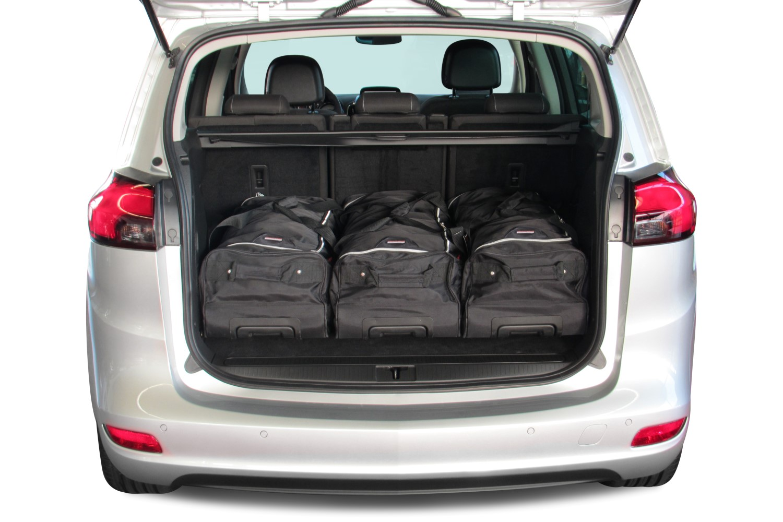 zafira opel zafira tourer c 2011 heden car bags reistassenset. Black Bedroom Furniture Sets. Home Design Ideas