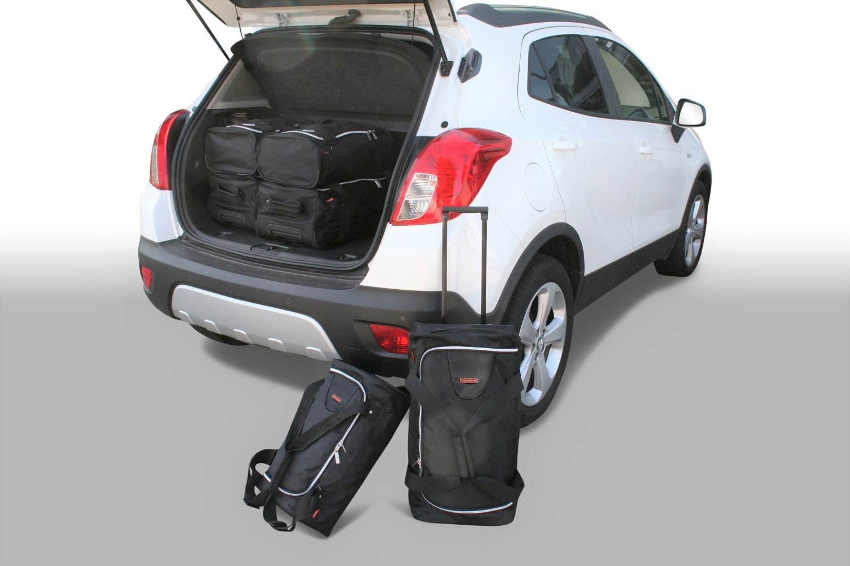 mokka x opel mokka mokka x 2012 pr sent car bags set. Black Bedroom Furniture Sets. Home Design Ideas