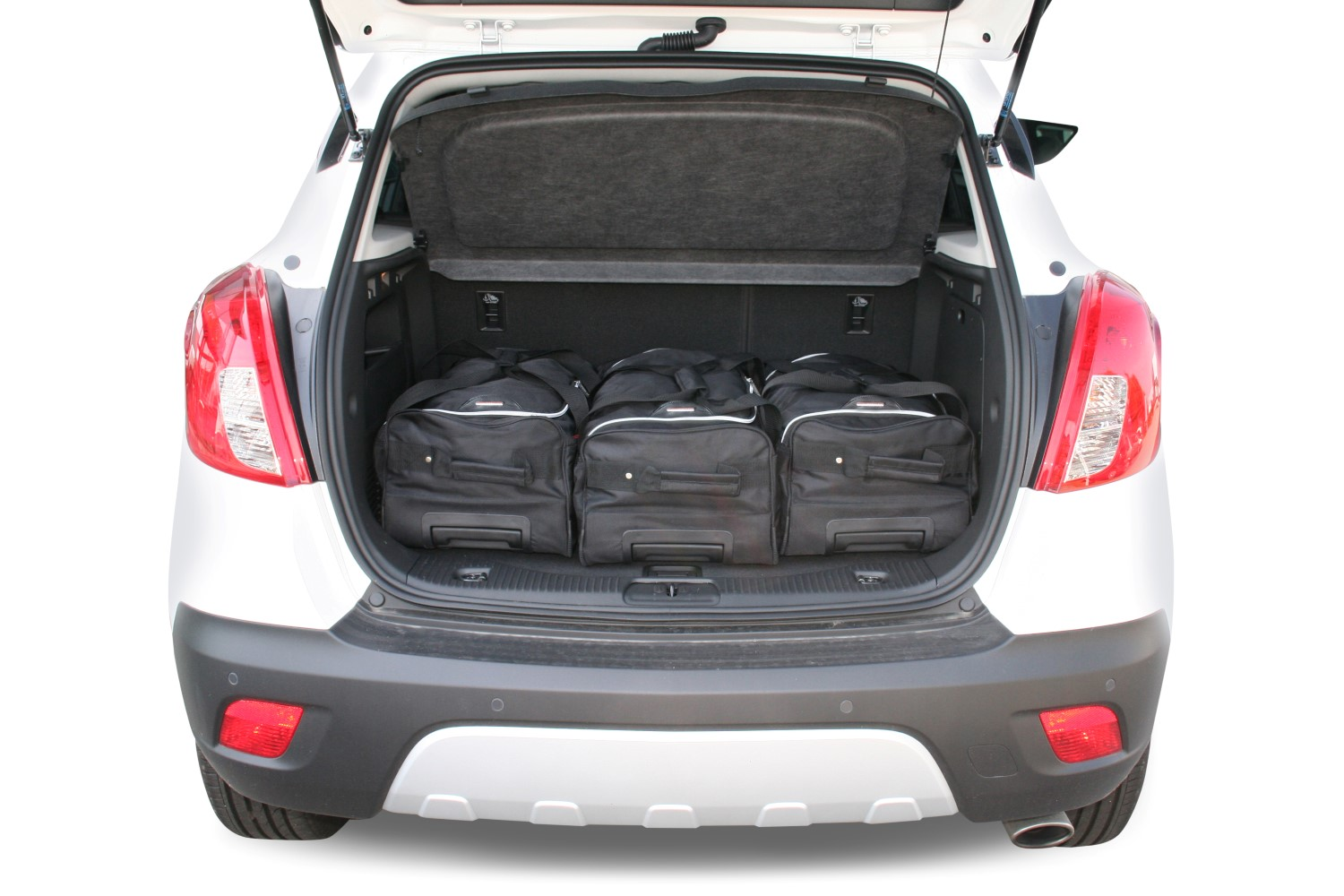 mokka x opel mokka mokka x 2012 pr sent car bags set de sacs de voyage. Black Bedroom Furniture Sets. Home Design Ideas