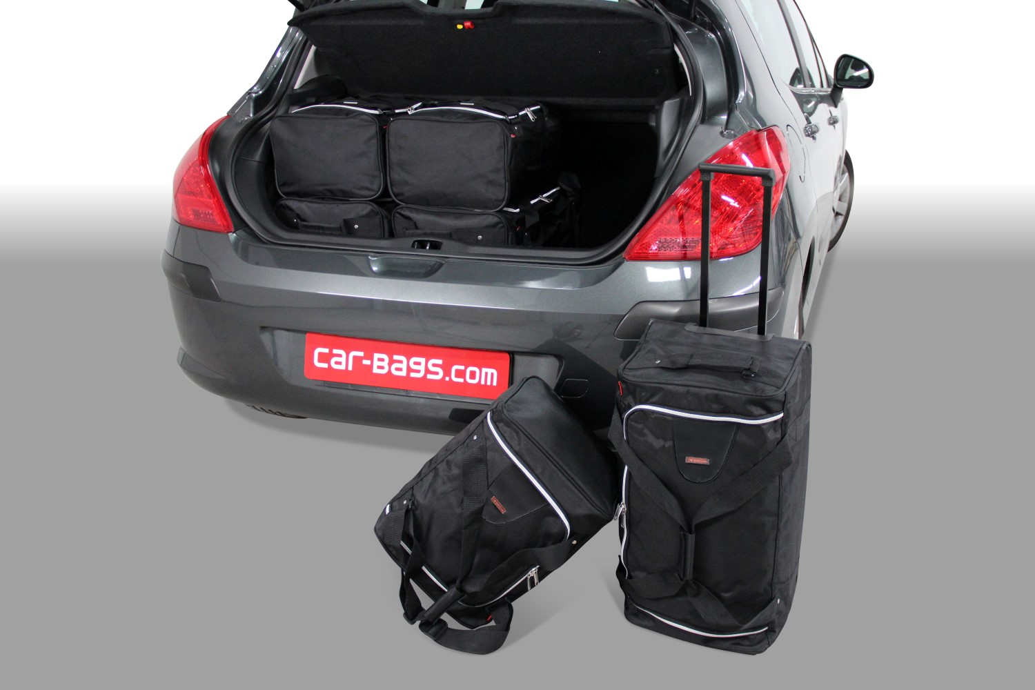 Peugeot 308 I 2007-2013 3 & 5 door Car-Bags.com travel bag set (1)