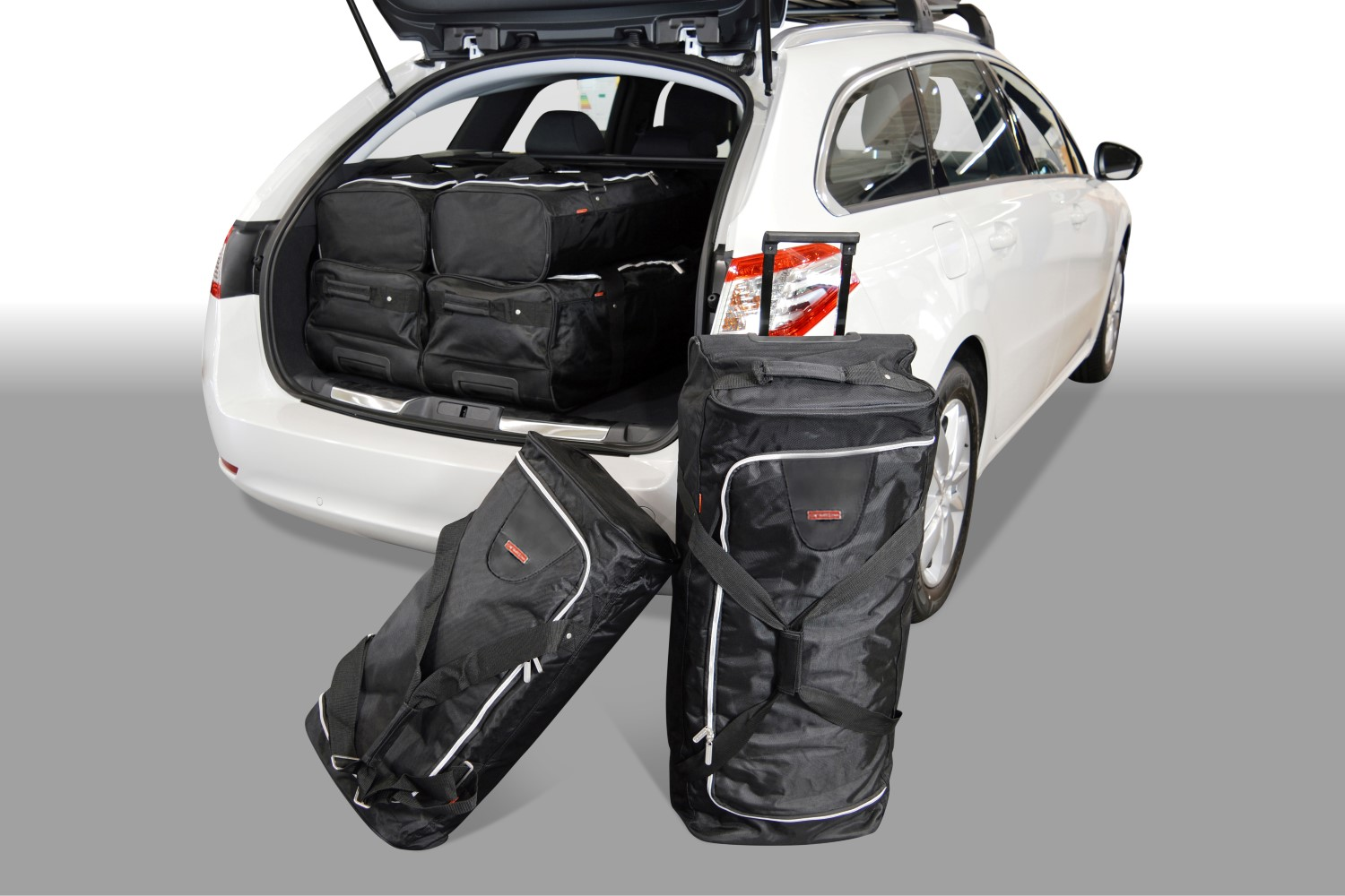 Peugeot 508 SW 2011- wagon Car-Bags.com travel bag set (1)