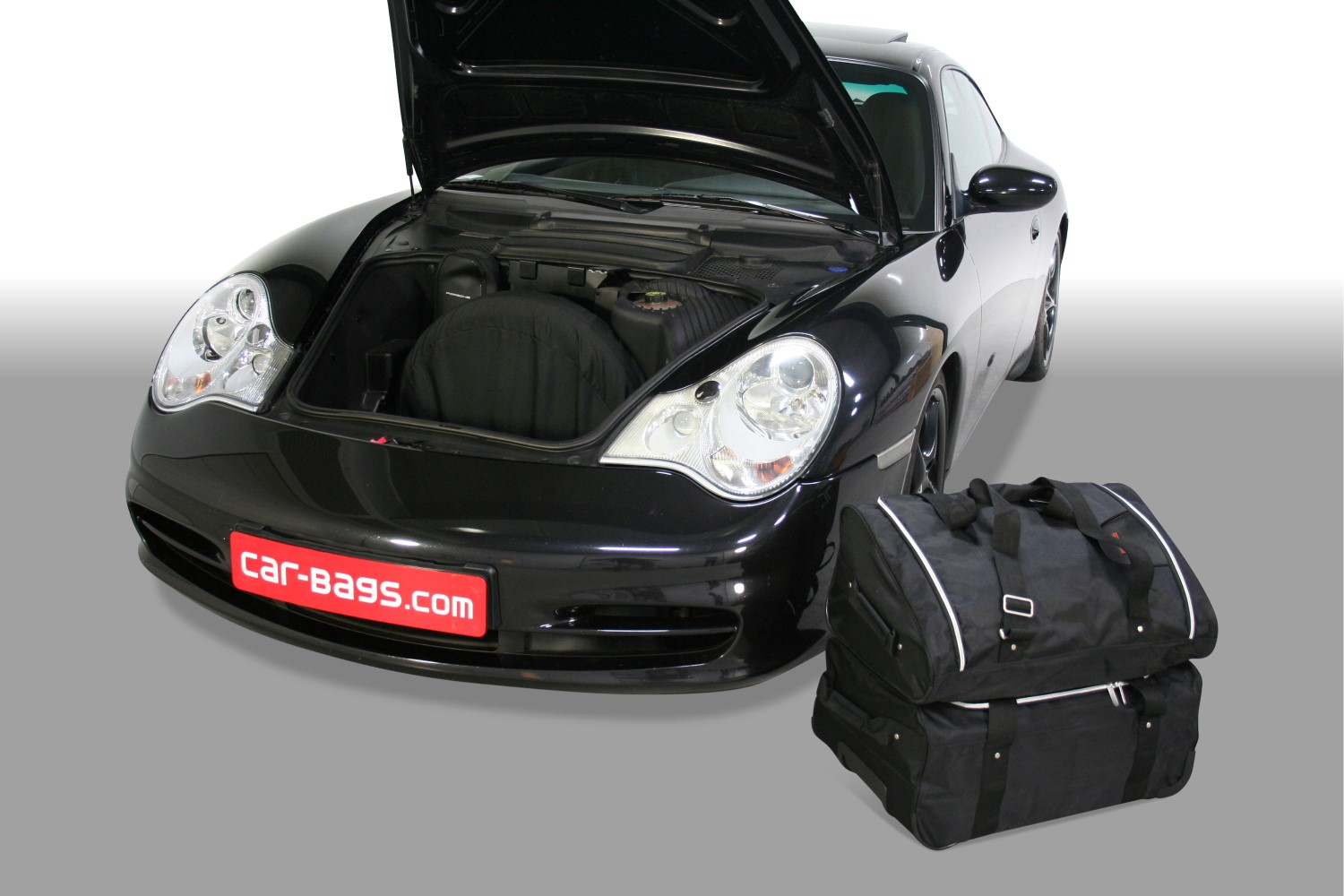 911 porsche 911 996 1997 2006 car bags travel bags 2wd 4wd with cd changer in luggage space. Black Bedroom Furniture Sets. Home Design Ideas