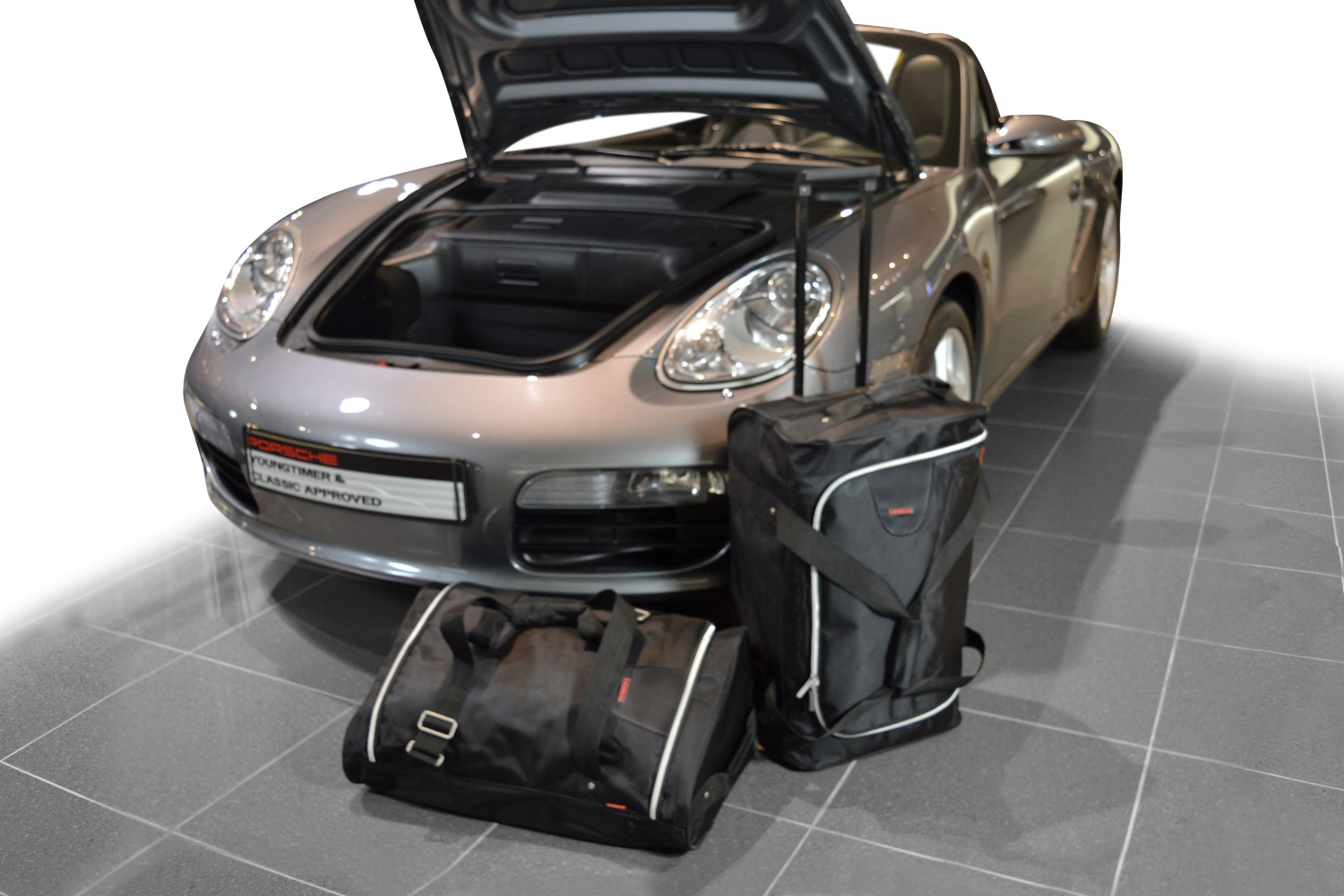 cayman boxster porsche cayman boxster 987 2004 2012 car bags travel bags 2wd 4wd. Black Bedroom Furniture Sets. Home Design Ideas