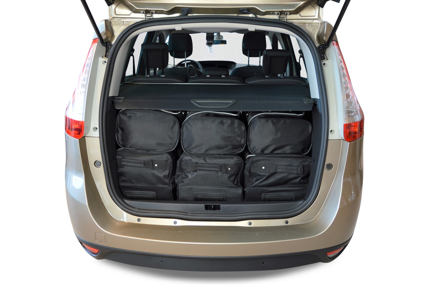car bags sacs de voyage renault grand sc nic iii 2009 2016 car bags set de sacs de voyage. Black Bedroom Furniture Sets. Home Design Ideas