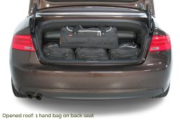 Audi A5 Cabriolet (8F7) 2009-2017 Car-Bags.com travel bag set (5)