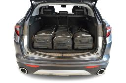 Alfa Romeo Stelvio 2016- 5 door Car-Bags.com travel bag set (2)