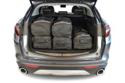 Alfa Romeo Stelvio 2016- 5 door Car-Bags.com travel bag set (3)