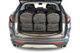 Alfa Romeo Stelvio 2016- 5 door Car-Bags.com travel bag set (4)