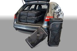 Audi A4 Avant (B8) 2008-2015 Car-Bags.com travel bag set (1)