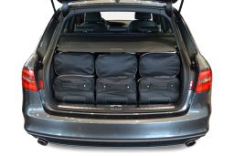 Audi A4 Avant (B8) 2008-2015 Car-Bags.com travel bag set (4)