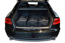 Audi A5 Sportback (8TA) 2009-2016 5 door Car-Bags.com travel bag set (2)