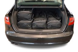 Audi A4 (B8) 2008-2015 4 door Car-Bags.com travel bag set (3)
