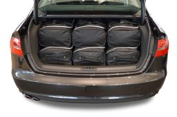 Audi A4 (B8) 2008-2015 4 door Car-Bags.com travel bag set (4)