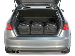 Audi A3 Sportback (8V) 2013- 5 door Car-Bags.com travel bag set (2)
