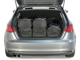Audi A3 Sportback (8V) 2013- 5 door Car-Bags.com travel bag set (3)