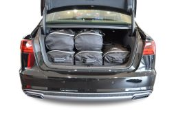 Audi A6 (C7) 2011-2018 4 door Car-Bags.com travel bag set (3)