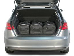 Audi A3 Sportback (8V) G-Tron 2013- 5 door Car-Bags.com travel bag set (2)