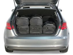 Audi A3 Sportback (8V) G-Tron 2013- 5 door Car-Bags.com travel bag set (3)