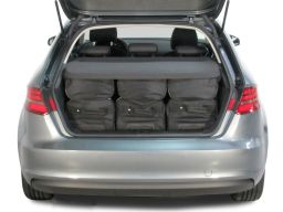 Audi A3 Sportback (8V) G-Tron 2013- 5 door Car-Bags.com travel bag set (4)