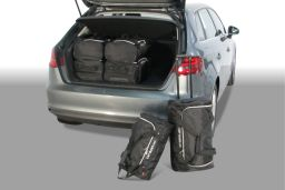 Audi A3 Sportback (8V) E-Tron 2014- 5 door Car-Bags.com travel bag set (1)