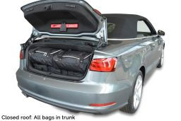 Audi A3 Cabriolet (8V) 2013- Car-Bags.com travel bag set (2)