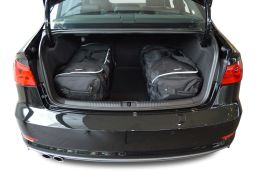 Audi A3 Limousine (8V) 2013- 4 door Car-Bags.com travel bag set (2)