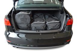 Audi A3 Limousine (8V) 2013- 4 door Car-Bags.com travel bag set (3)