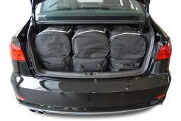 Audi A3 Limousine (8V) 2013- 4 door Car-Bags.com travel bag set (4)