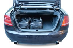 Audi A4 Cabriolet (B6 & B7) 2001-2008 Car-Bags.com travel bag set (2)