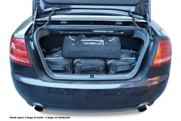 Audi A4 Cabriolet (B6 & B7) 2001-2008 Car-Bags.com travel bag set (3)