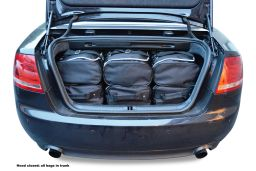 Audi A4 Cabriolet (B6 & B7) 2001-2008 Car-Bags.com travel bag set (4)