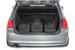 BMW 3 series Touring (E91) 2005-2012 Car-Bags.com travel bag set (2)