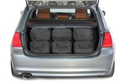 BMW 3 series Touring (E91) 2005-2012 Car-Bags.com travel bag set (4)